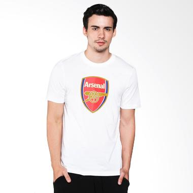 Arsenal Basic Crest Men Tee AFCMTS21510B Kaos Bola