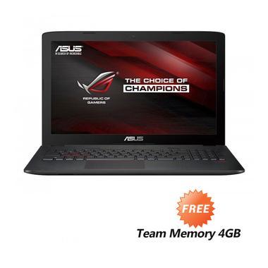 Asus ROG GL752VW-T4211T Notebook [1 ... Win 10] + Team Memory 4GB