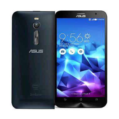 Asus Zenfone 2 ZE551ML Black Smartphone [RAM 4 GB/32 GB]