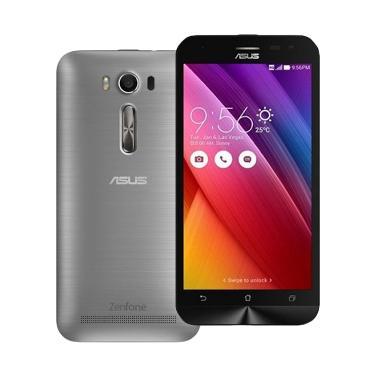 Asus Zenfone Laser ZE500KL Smartphone - Silver [16GB/ 2GB/ 4G LTE]