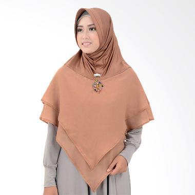 Atteena Hijab Alifa Balqis Hijab - Mocca