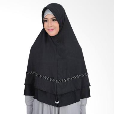 Atteena Hijab Aulia Asoka Kerudung - Hitam