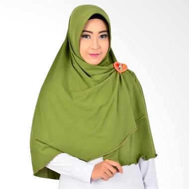 Atteena Hijab Aulia Salimah Kerudung - Hijau Lumut