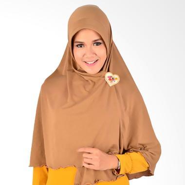 Atteena Hijab Aulia Salimah Kerudung - Mocca