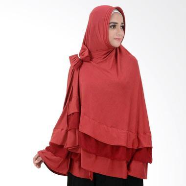 Atteenahijab Aulia Khadijah - Dark Red