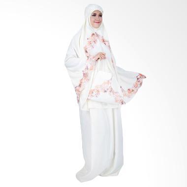 Atteena Hijab Kalila Mukena - Putih Tulang