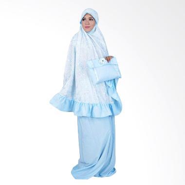 Atteena Hijab Tsania Mukena - Biru Turkis