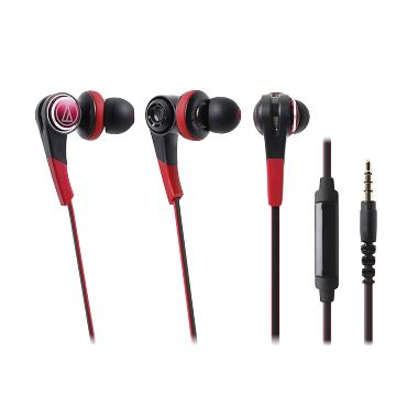 Audio Technica ATH-CKS770iS RD EX Headset - Red