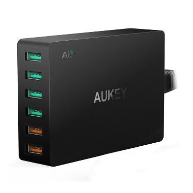 Aukey PA-T11 Quick Charger Qualcomm ... SB Charging Station 60 W]