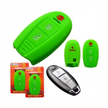Autorace Suzuki New Ertiga Cover Key Silikon - Green