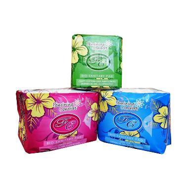 Avail Pembalut Herbal Combi Original - Hijau Biru Merah [3 Bungkus]
