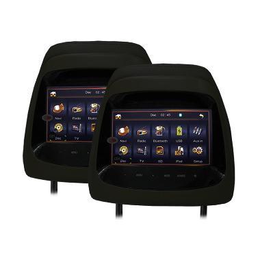 AVT HM-7188 Headrest Monitor for Mitsubishi Pajero TV Mobil - Black