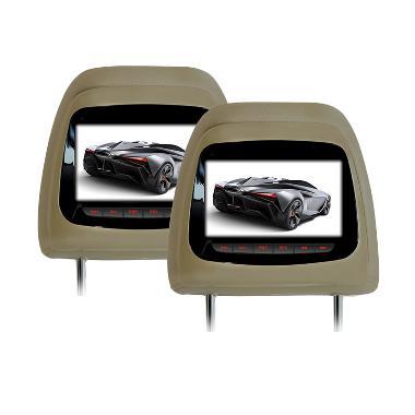 AVT HM-7188RM Beige Headrest Monitor for Mitsubishi Pajero TV Mobil