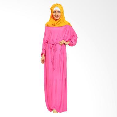 Ayako Fashion Hijab Dress - Pinky