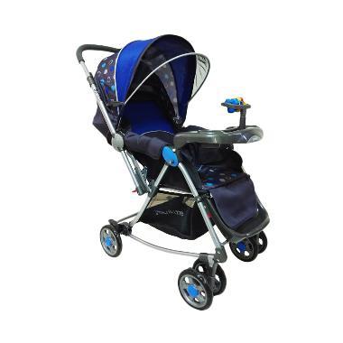 Baby Does 370 You And Me Blue Kereta Dorong Bayi