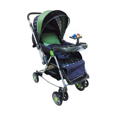 Baby Does 370 You And Me Green Kereta Dorong Bayi