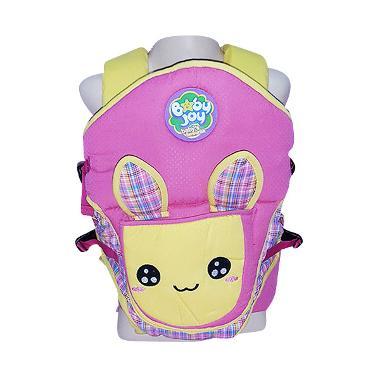 Baby Joy Gendongan Ransel 2 in 1 Bunny Series - Pink BJG301800