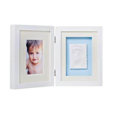 Baby Memory Print Table Frame - White