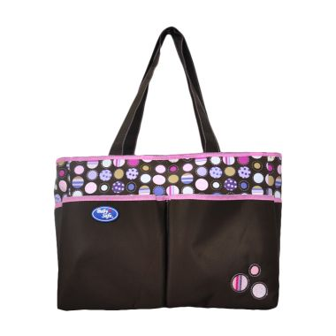 Baby Safe Double Pocket Brown Tas B ...
