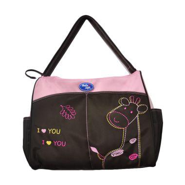 Baby Safe Double Zipper Pink Tas Ba ...