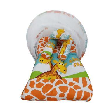 Babybess Kasur Lipat Kelambu Giraffe