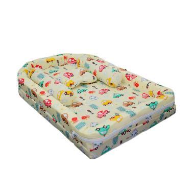 Babybess Kasur Tenda Kelambu Car on Tempat Tidur Bayi - Kuning