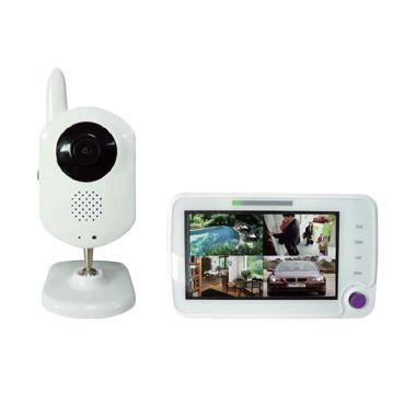 BabyTalk Digital Wireless Monitoring System 1001 White Baby Monitor