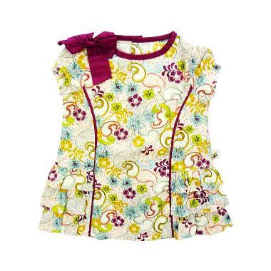 Babylon Rising Star Batik Flower Purple Dress