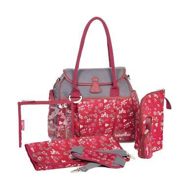 Babymoov Style Bag Cherry A043560 Red Tas Bayi