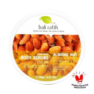Bali Ratih Almond Nut Body Scrub [110 mL]