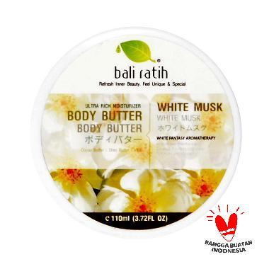 Bali Ratih White Musk Body Butter [110 mL]