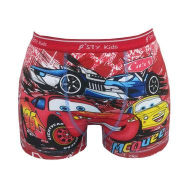 Bananana Boxer Anak Cars McQueen 95 - Merah