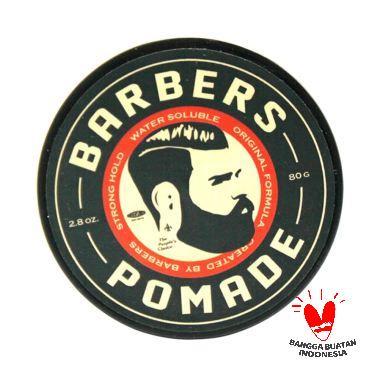 TERMURAH..!!! Barbers Pomade Water Soluble Perawatan Rambut #Strong 100gr Terbagus