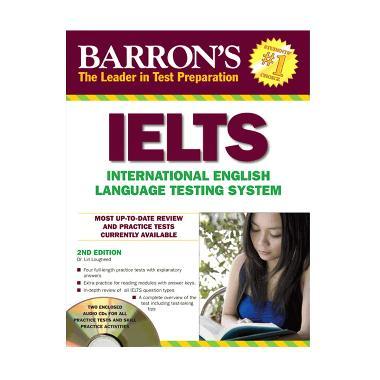 Jual Barrons IELTS 2nd Edition with CD Audio Online - Harga & Kualitas Terjamin