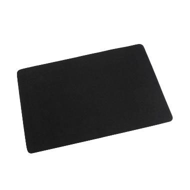 Basic Standard Anti Slip Mouse Pad - Hitam