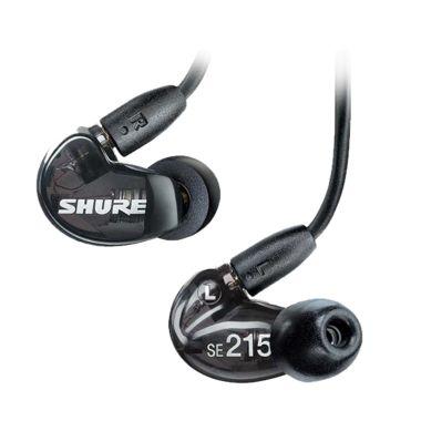 harga Shure SE215 Sound Isolating Earphones with Remote + Mic - Black Blibli.com