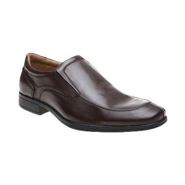 Bata Formal Chay 851-4029 Brown Sepatu Pria