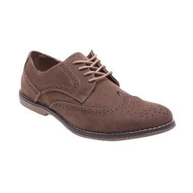 Bata Formal Stan 821-4092 Brown Sepatu Pria