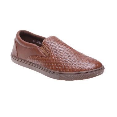 Bata Xeng 851-4415 Brown Sepatu Pria