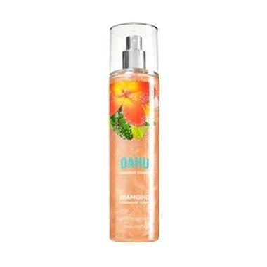 Bath & Body Works Diamond Shimmer Mist Oahu Coconut Sunset Body Sprey [236 ML]