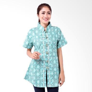 batik-distro_batik-distro-ba6511-blus-wanita-kancing-koin-pendek---hijau_full06 Inilah Daftar Harga Gamis Polos Kancing Depan Terbaru bulan ini