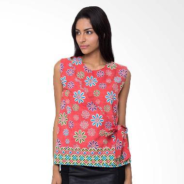 Batik Etniq Craft Kiara Blouse Atasan Wanita - Peach