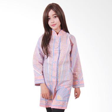 Batik Putri Ayu Solo B29 Batik Blouse Tunik Muslim - Kuning