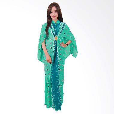 Batik Putri Ayu Solo Batik C2 Cape Gamis - Hijau