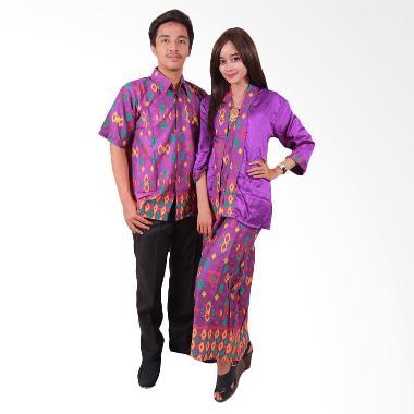 Batik Putri Ayu Solo SRG45 Sarimbit ... e Ayuna Baju Batik - Ungu