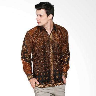 Jual Batik Trusmi Kemeja Motif Parang Milo KMJ MTF MILO PRG Batik