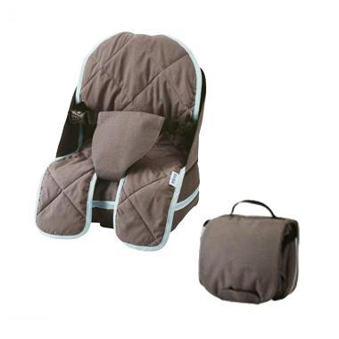 Beaba Turquese 940055 Travelling Booster Seat - Dark Grey