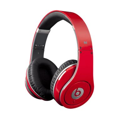 Beats Studio Over-Ear Red Headset