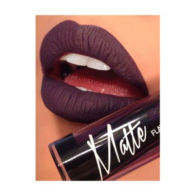 LA Girl Matte Pigment Gloss Black C ...