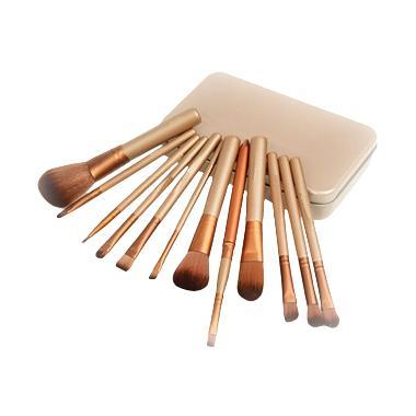 harga BeautyCare Line Kuas Make Up Coklat Peralatan Make-up Blibli.com